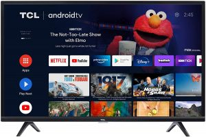 TCL 32-inch Class 3-Series HD LED Smart Android TV